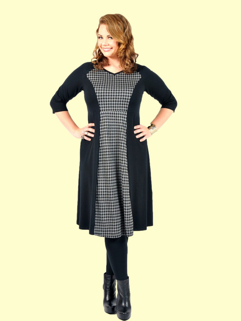 Women's Shadow Dress - Bamboo Viscose Knit
