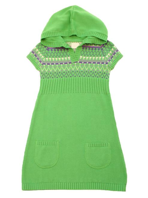 Knitted Jacquard Dress - Organic Cotton