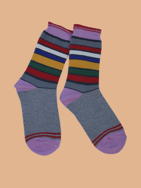 San Francisco Stripes Sock - Organic Cotton