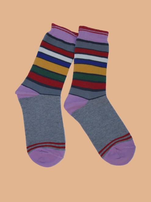 San Francisco Stripes Sock - Organic Cotton