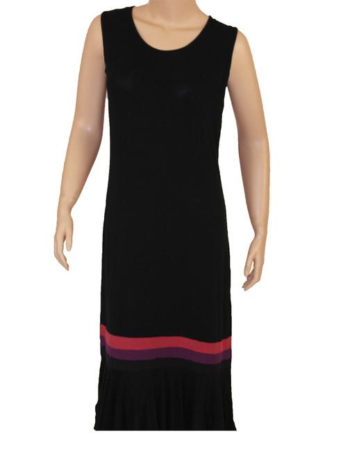 Women's Ruffle 3/4 Tank Dress - Bamboo Rayon