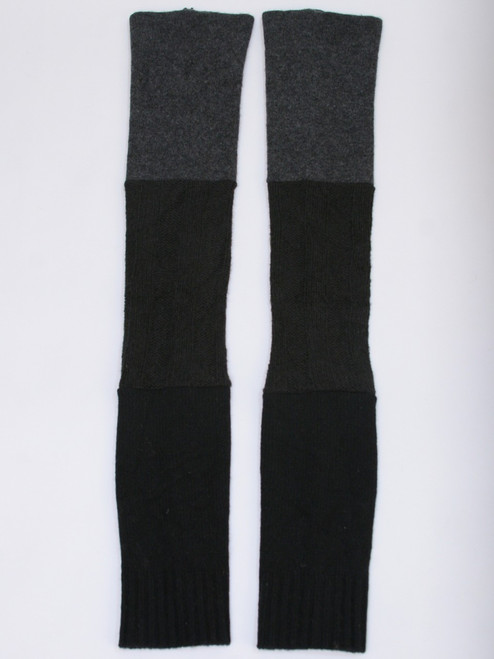 Gisselle Legwarmer  Steel - Recycled Material