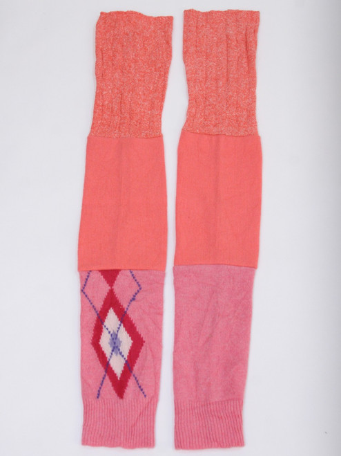 Gisselle Legwarmer Bubble Gum - Recycled Material