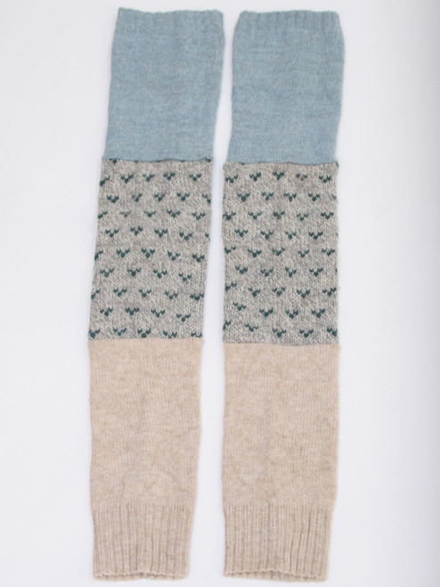 Gisselle Legwarmer Spring Showers - Recycled Material