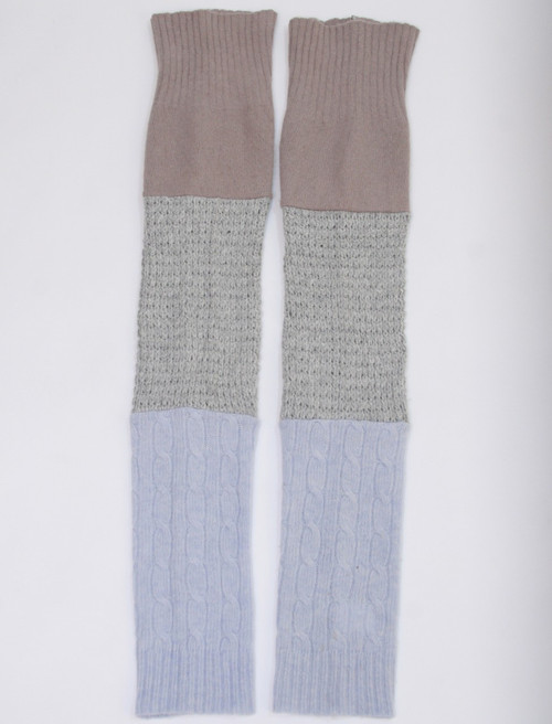 Gisselle Legwarmer  Winter Land - Recycled Material