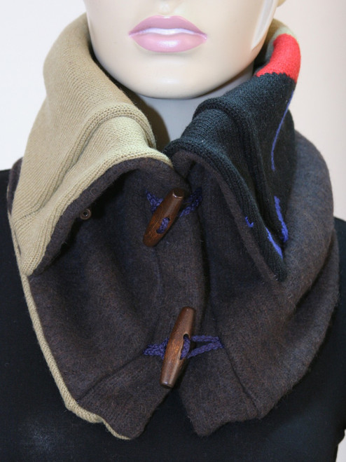Aspen Snood Scarf Rare Earth - Recycled Material