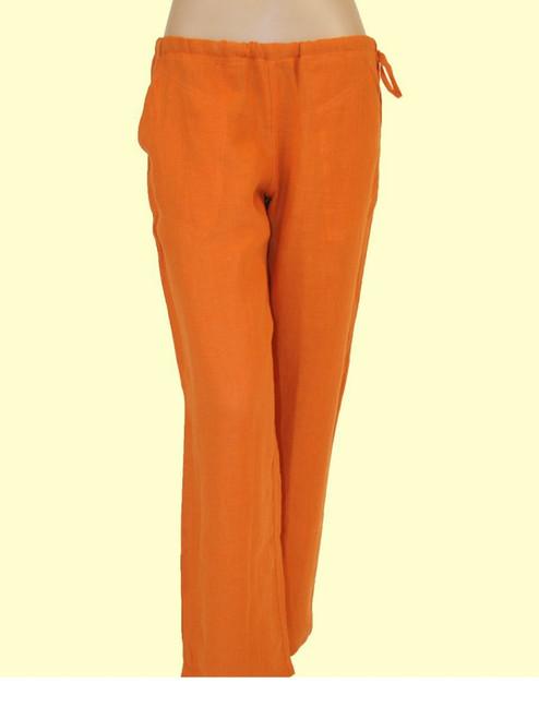 100% Hemp Russet Drawstring Pants