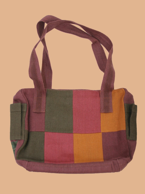 Mosaic Handbag  - Hemp
