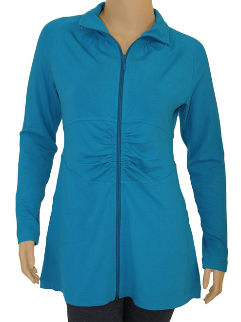 Resort Zip Jacket -Viscose Bamboo