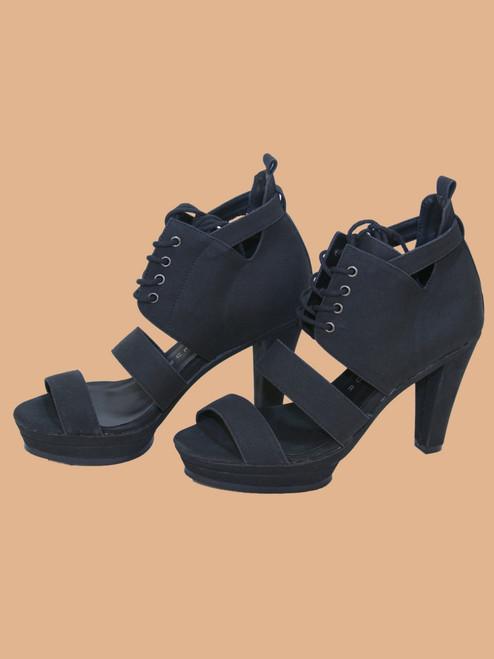 Sammy Strappy Sandals - Vegan Leather