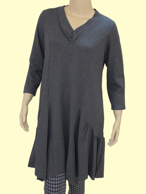 Women's Plus Size Halogen Steel Tunic Dress - Bamboo Viscose