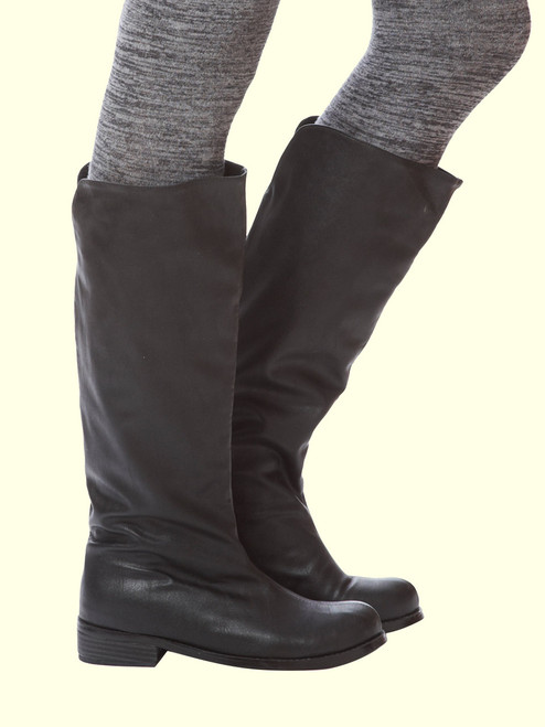 Anne Pull-On Flat Boot