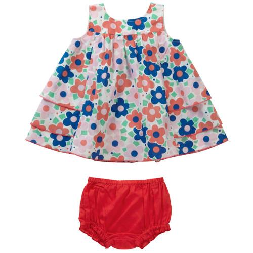 Ditsy Daisy Baby Girl Set . Organic Cotton - Fair Trade