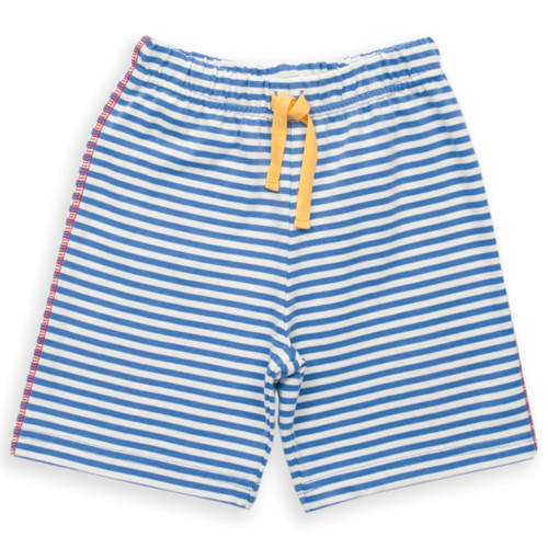 Organic Cotton Baby Boy Jersey Stripy Short - Fair Trade