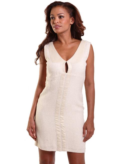 Patty Mini Dress - Organic Jute Cotton Boucle