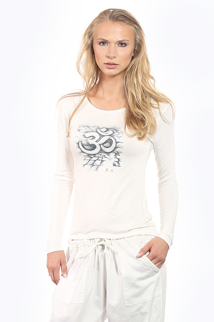 Roman OM Long Sleeve Tee - Modal