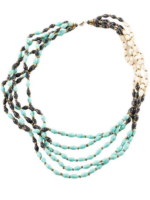 Glacier Necklace - Eco Beads
