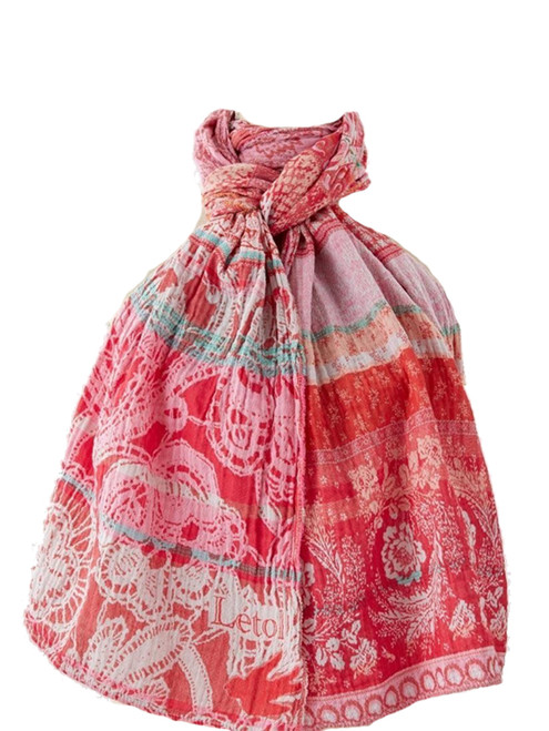 Denise Rose Tagada Scarf - 100% Organic Cotton