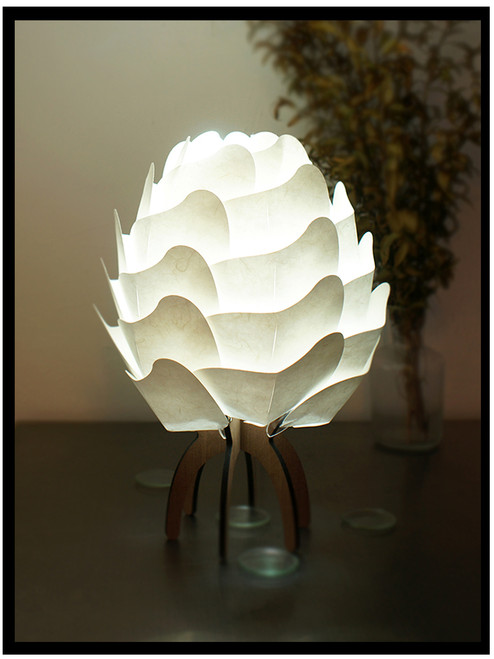 Table Lamp G1A1 - Eco-friendly Mulberry Paper