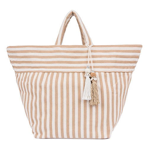 Sand Valerie  Beach Tote - Upcycled Materials