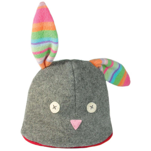 Toddler Winter Hat-Eco Wool - Bunny