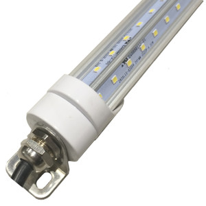 White 6 foot LED T8 Fluorescent 85-277V