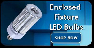 Enclosed Fixture LED Bulbs