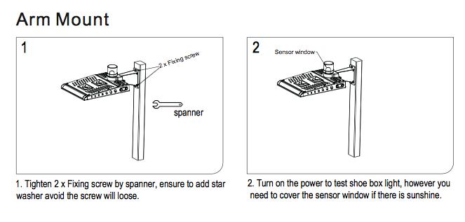 300 watt led shoebox fixture 1000 watt hid equivalent led global rh ledglobalsupply com