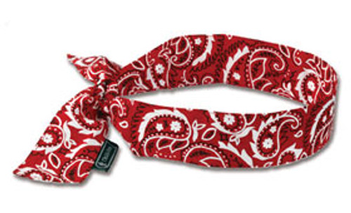 Red Bandana Headband - Calolympic Safety b5001900343