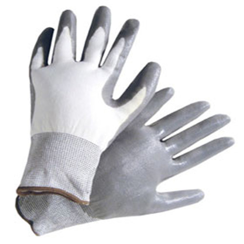 Gray Nitrile Gloves