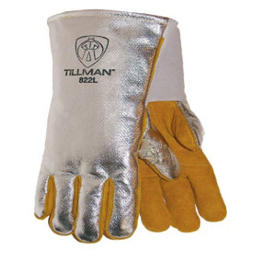 Aluminized ACK Back Gloves