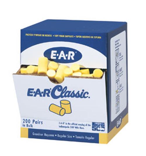 Classic Uncorded Earplugs, 200/pair