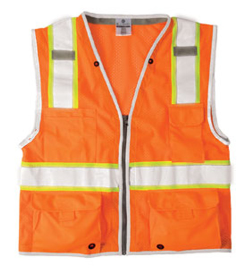 Brilliant Series Heavy Duty Class 2 Vest - Orange
