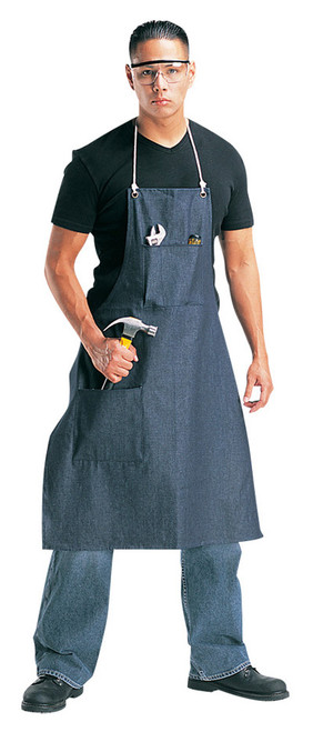 Blue Denim 2-Pocket Apron