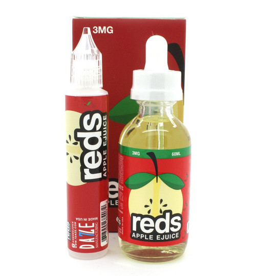 Reds Apple  | Reds Apple Ejuice by 7 Daze | 60ml