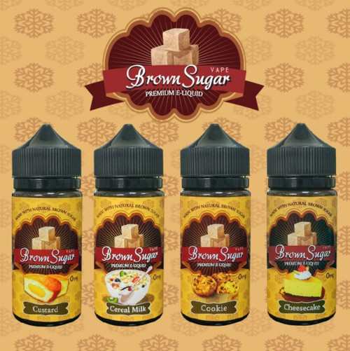 Brown Sugar Custard | Extract & Brew | 100ml