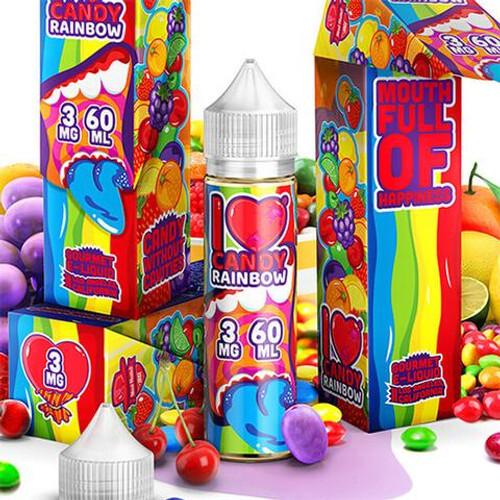 Rainbow | I Love Candy eJuice By Mad Hatter | 60ml