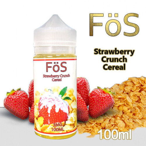 Strawberry Crunch Cereal | FoS | 60ml