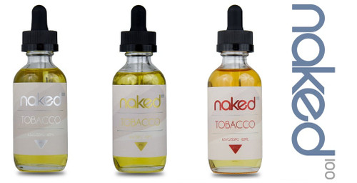 3 pack Tobacco Bundle  | Naked 100 Tobacco by the Schwartz | 180ml