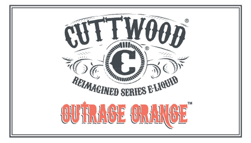 Outrage Orange | Cuttwood Reimagined | 60ml (Super Deal)
