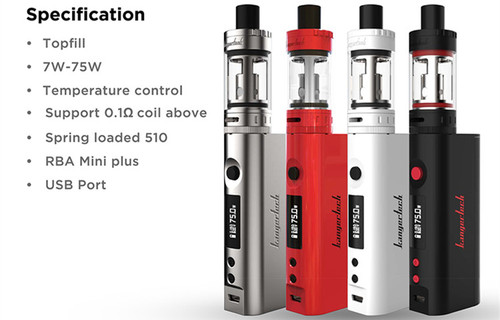 TOPBOX MINI  STARTER KIT by KANGERTECH | White/Gray