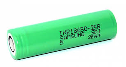 SAMSUNG INR 18650-25R BATTERY CLOSE OUT!