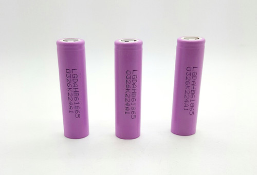 HB6 1500mAh Continuous 30A Flat Top rechargeable Battery   LG