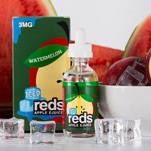 Reds Watermelon Iced  | Reds Apple Ejuice by 7 Daze | 60ml