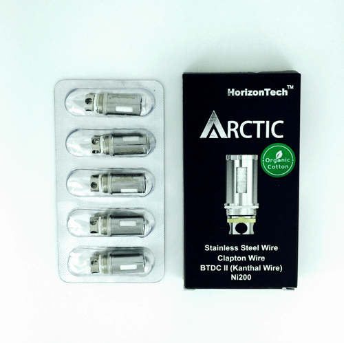 ARCTIC HORIZON TECH COIL .2 OHM, .5 OHM, STAINLESS STEEL, CLAPTON, KANTHAL AND Ni 200 COILS