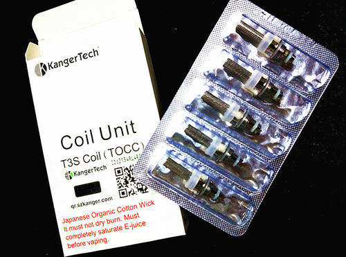 NEW TOCC ORGANIC JAPANESE COTTON MT3S/T3S COILS | Kangertech