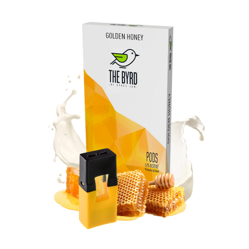 Golden Honey Flavor - 4pk Pods | The BYRD by Space Jam