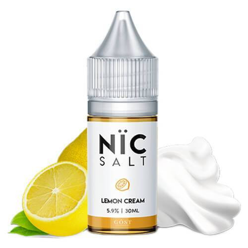 Lemon Cream | Nic Salt by Gost Vapor | 30ml