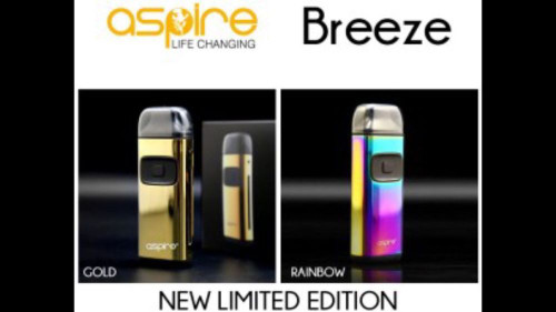 Aspire Breeze Starter Mod Kit | Aspire (Limited Time NEW Colors!)