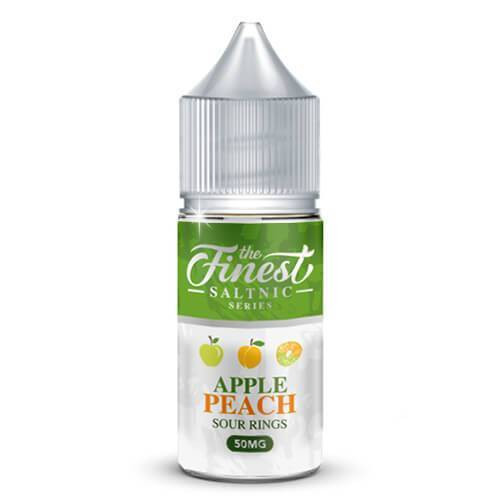 Apple Peach Sour Rings | The Finest SaltNic Series | 30ml